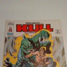 Cómics: SUPER HEROES V2. Nº 22. SUPER HEROES PRESENTA KULL. EL DIOS ESCORPION. 1976 VERTICE.. Lote 62109412