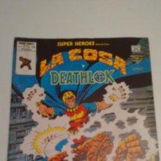 Cómics: SUPER HEROES V2. Nº 120. SUPER HEROES PRESENTA LA COSA Y DEATHLOK. 1980 VERTICE.. Lote 62109964