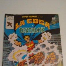 Cómics: SUPER HEROES V2. Nº 120. SUPER HEROES PRESENTA LA COSA Y DEATHLOK. 1980 VERTICE.. Lote 62110024