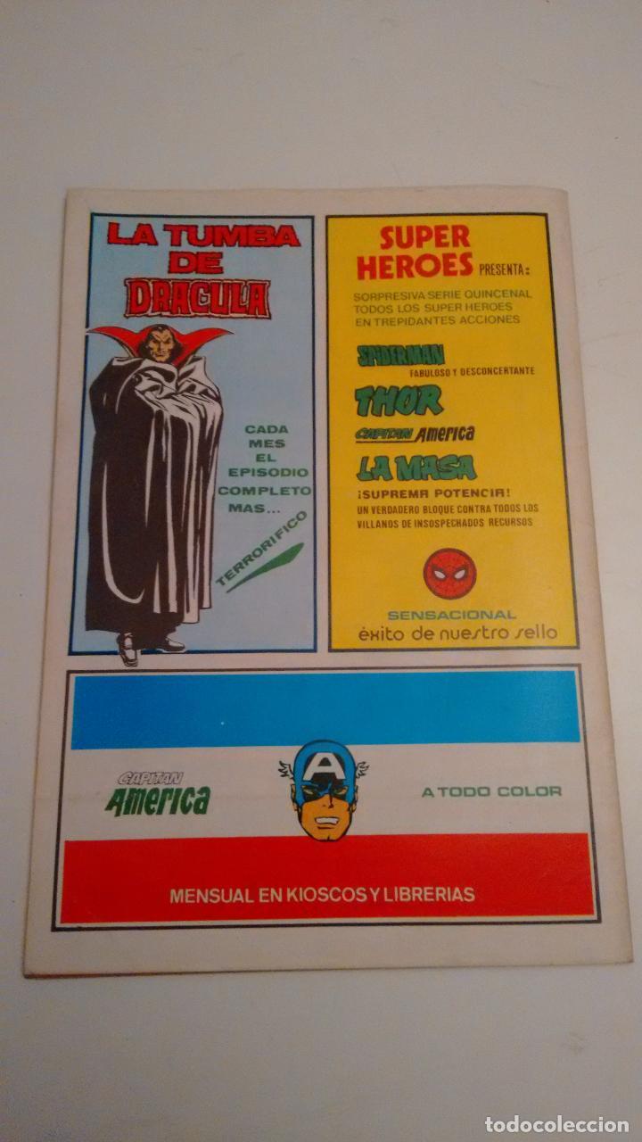 Cómics: SUPER HEROES V2. Nº 122. SUPER HEROES PRESENTA LA COSA Y WUNDARR. 1980 VERTICE. - Foto 2 - 62110148