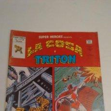 Cómics: SUPER HEROES V2. Nº 130. SUPER HEROES PRESENTA LA COSA Y TRITON. 1980 VERTICE.. Lote 62110352
