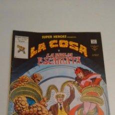 Cómics: SUPER HEROES V2. Nº 131. SUPER HEROES PRESENTA LA COSA Y LA BRUJA ESCARLATA. 1980 VERTICE.. Lote 62110516