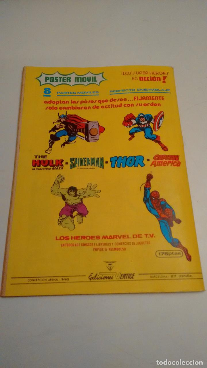 Cómics: SUPER HEROES V2. Nº 132. SUPER HEROES PRESENTA CAPITAN MARVEL. ¡HOLOCAUSTO!. 1980 VERTICE. - Foto 3 - 62110712