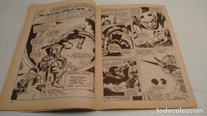 Cómics: SUPER HEROES V2. Nº 132. SUPER HEROES PRESENTA CAPITAN MARVEL. ¡HOLOCAUSTO!. 1980 VERTICE. - Foto 2 - 62111620
