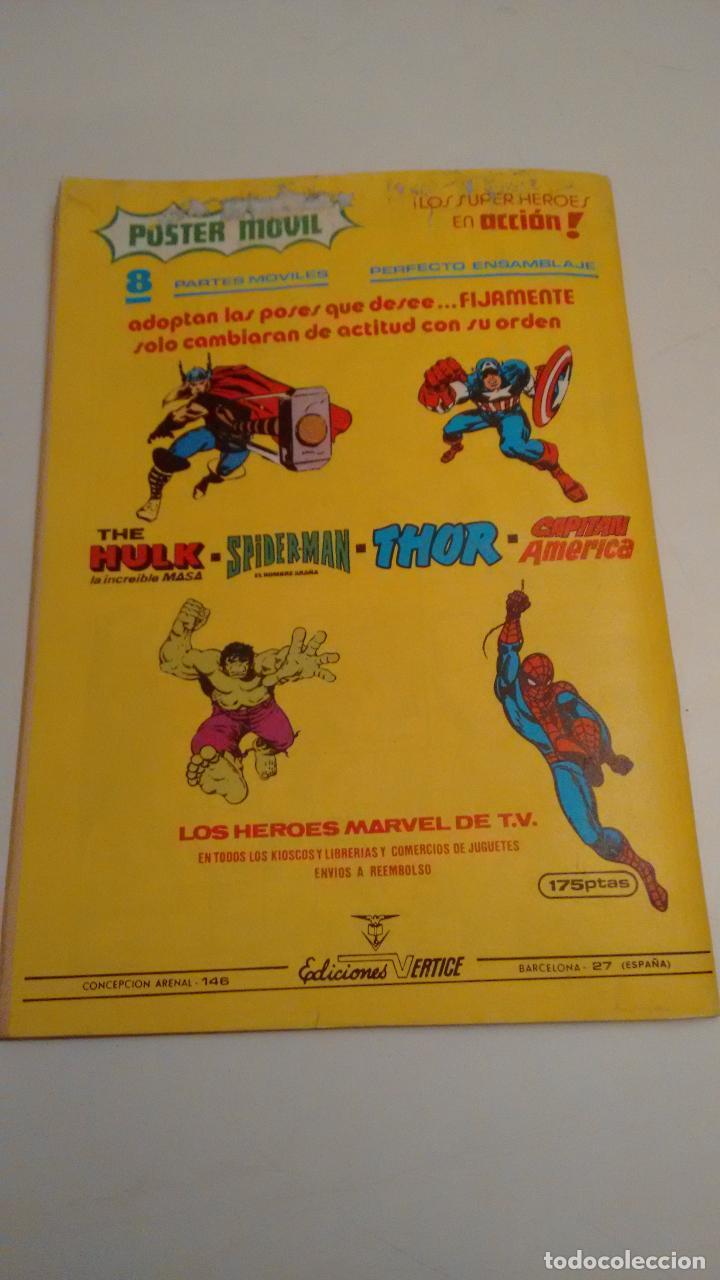 Cómics: SUPER HEROES V2. Nº 132. SUPER HEROES PRESENTA CAPITAN MARVEL. ¡HOLOCAUSTO!. 1980 VERTICE. - Foto 3 - 62111620