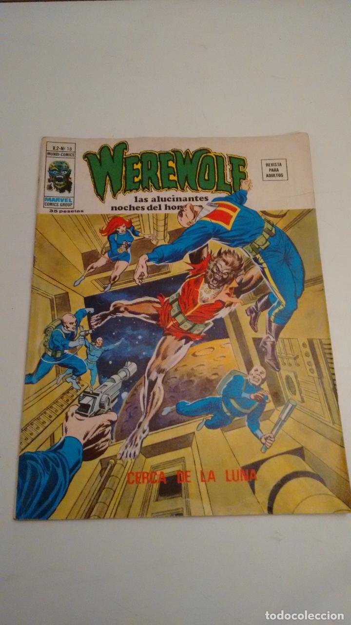 WEREWOLF V.2. Nº 18 CERCA DE LA LUNA. 1976 VERTICE. (Tebeos y Comics - Vértice - V.2)