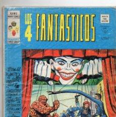 Cómics: COMIC VERTICE 1977 LOS 4 FANTASTICOS VOL3 Nº 5 BUEN ESTADO. Lote 62178444