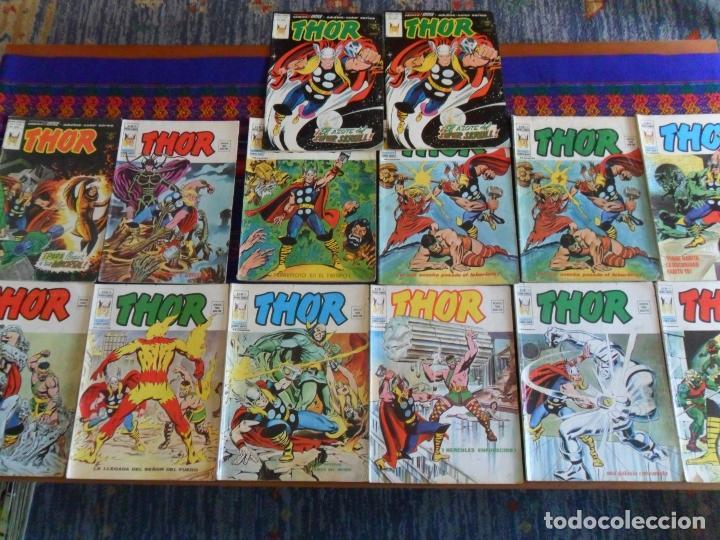 VÉRTICE VOL 2 THOR NºS 5 10 12(2) 13 14 16(2) 17 18 21(2) 23 24(2) 27(2) 34 50 53 (Tebeos y Comics - Vértice - Thor)
