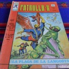 Cómics: VÉRTICE VOL. 3 PATRULLA X Nº 12. 35 PTS. 1976. LA PLAGA DE LA LANGOSTA. BUEN ESTADO.. Lote 62260700
