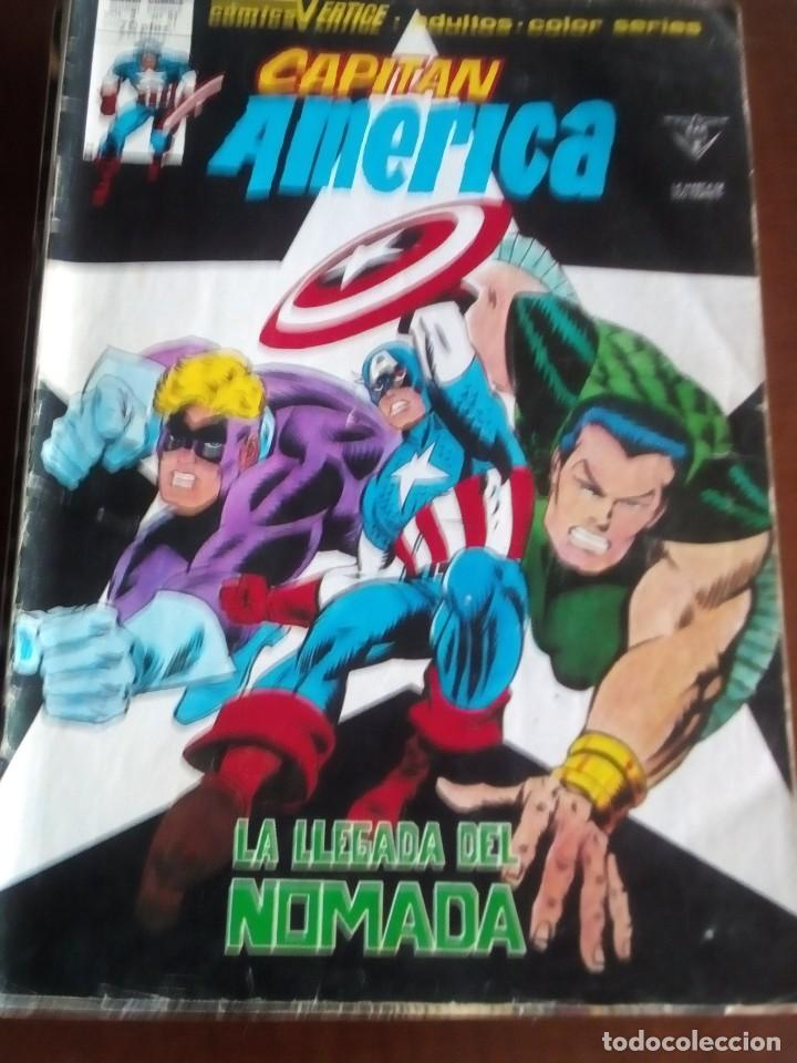 CAPITAN AMERICA VOL.3 N-41 L3P3 (Tebeos y Comics - Vértice - V.2)