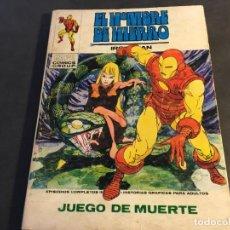Cómics: EL HOMBRE DE HIERRO Nº 26 JUEGO DE MUERTE. TACO VOL 1 (VERTICE) (COI11). Lote 62443252