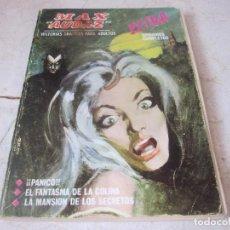 Cómics: MAX AUDAZ Nº 5 - ¡¡¡PANICO!!!, EL FANTASMA DE LA COLINA Y LA MANSION DE LOS SECRETOS - VERTICE 1964. Lote 62570524