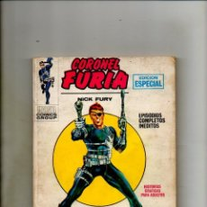 Cómics: CORONEL FURIA 1 - VERTICE 1970 - FN/VFN FANTASTICO - NICK FURY AGENT OF SHIELD 1 2 USA. Lote 62617620