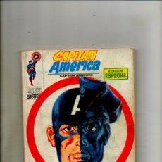 Cómics: CAPITAN AMERICA 19 - VERTICE 1971 - FN- 5.5 - CAPTAIN AMERICA 138 139 USA. Lote 62746376