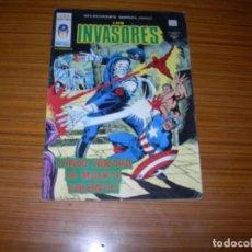 Cómics: LOS INVASORES V.1 Nº 39 EDITA VERTICE . Lote 63086144