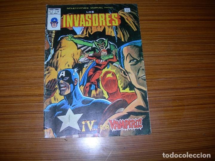 LOS INVASORES V.1 Nº 50 EDITA VERTICE (Tebeos y Comics - Vértice - Otros)