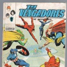 Cómics: LOS VENGADORES V 1 Nº 52 VERTICE - ÚLTIMO , COMPLETO, BUEN ESTADO. Lote 63269552