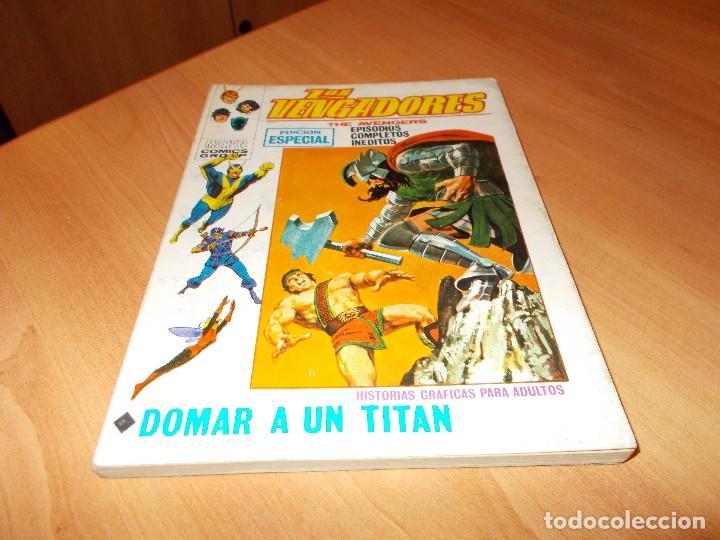 LOS VENGADORES V.1 Nº 22 (Tebeos y Comics - Vértice - Vengadores)