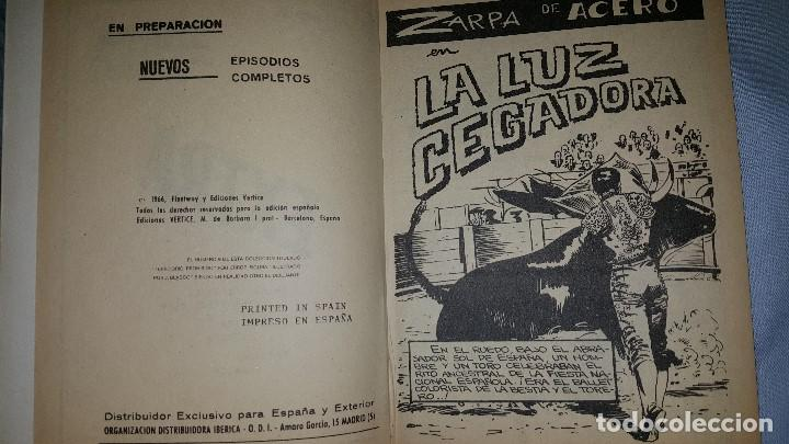 Cómics: ZARPA DE ACERO (1966) EXTRA - LA LUZ CEGADORA - Foto 3 - 63462552