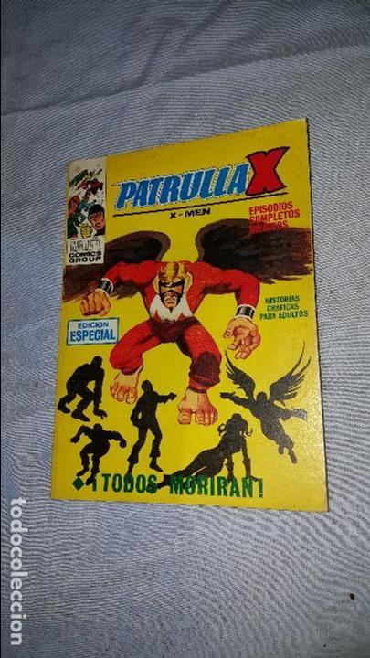 PATRULLA X -- Nº 8 (1970) (Tebeos y Comics - Vértice - Patrulla X)