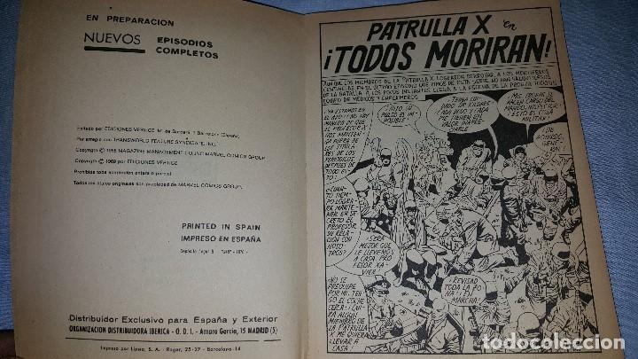 Cómics: PATRULLA X -- Nº 8 (1970) - Foto 2 - 63480880