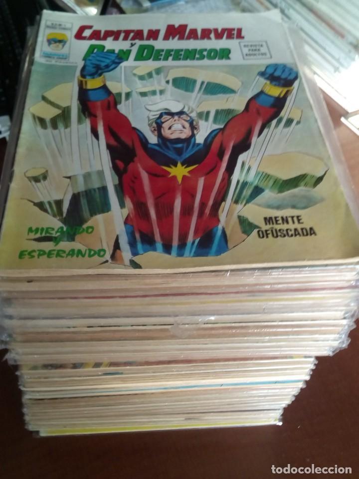 HEROES MARVEL LA MASA DAN DEFENSOR HOMBRE DE HIERRO N-1 AL 67 COMPLETA (Tebeos y Comics - Vértice - V.2)
