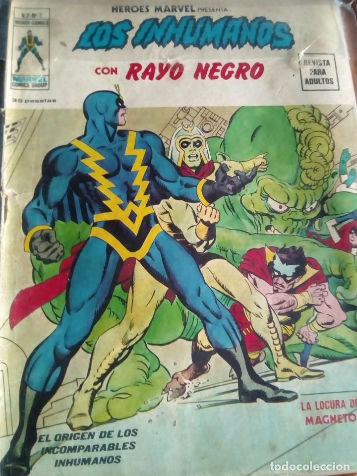 Cómics: HEROES MARVEL la masa dan defensor hombre de hierro N-1 AL 67 COMPLETA - Foto 4 - 63660951