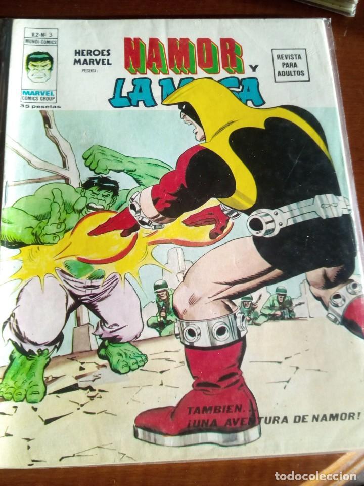 Cómics: HEROES MARVEL la masa dan defensor hombre de hierro N-1 AL 67 COMPLETA - Foto 5 - 63660951
