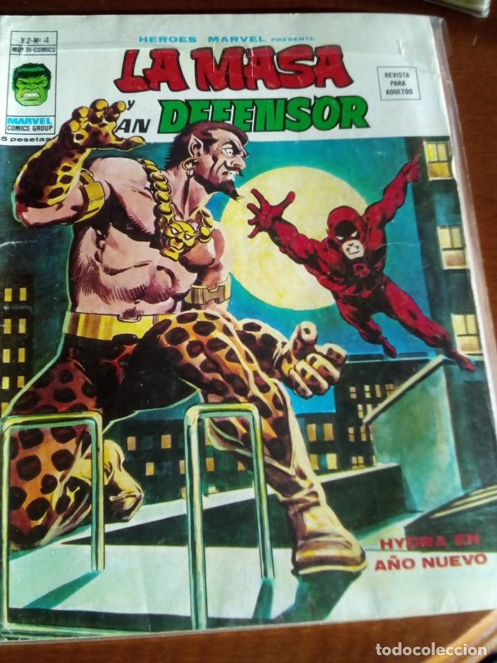 Cómics: HEROES MARVEL la masa dan defensor hombre de hierro N-1 AL 67 COMPLETA - Foto 6 - 63660951