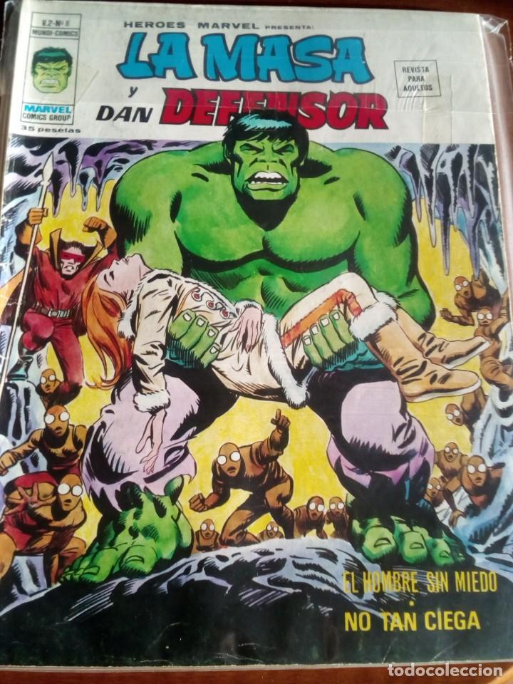 Cómics: HEROES MARVEL la masa dan defensor hombre de hierro N-1 AL 67 COMPLETA - Foto 10 - 63660951