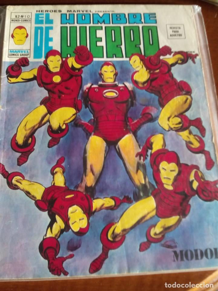 Cómics: HEROES MARVEL la masa dan defensor hombre de hierro N-1 AL 67 COMPLETA - Foto 12 - 63660951