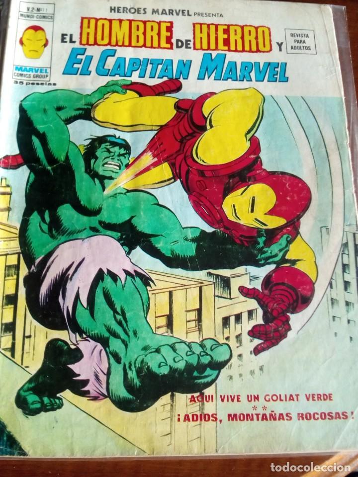Cómics: HEROES MARVEL la masa dan defensor hombre de hierro N-1 AL 67 COMPLETA - Foto 13 - 63660951