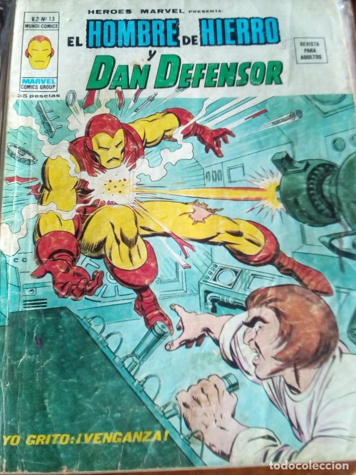Cómics: HEROES MARVEL la masa dan defensor hombre de hierro N-1 AL 67 COMPLETA - Foto 15 - 63660951