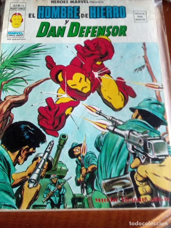 Cómics: HEROES MARVEL la masa dan defensor hombre de hierro N-1 AL 67 COMPLETA - Foto 16 - 63660951