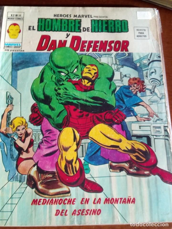 Cómics: HEROES MARVEL la masa dan defensor hombre de hierro N-1 AL 67 COMPLETA - Foto 18 - 63660951