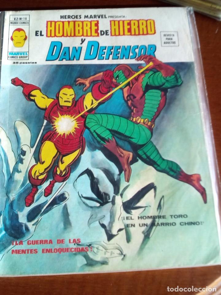 Cómics: HEROES MARVEL la masa dan defensor hombre de hierro N-1 AL 67 COMPLETA - Foto 20 - 63660951