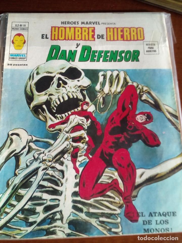 Cómics: HEROES MARVEL la masa dan defensor hombre de hierro N-1 AL 67 COMPLETA - Foto 21 - 63660951