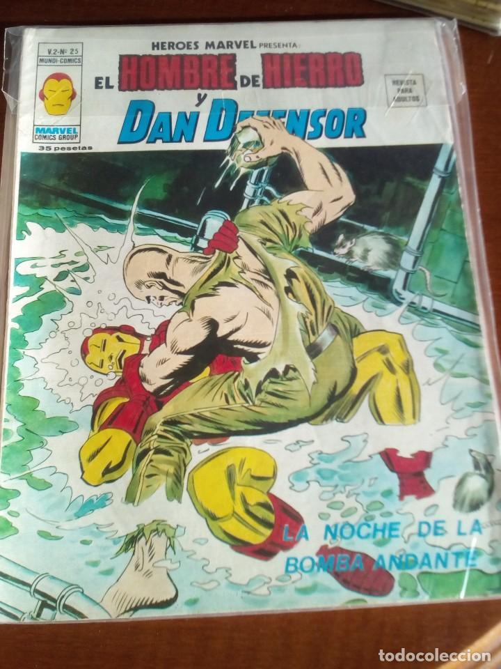 Cómics: HEROES MARVEL la masa dan defensor hombre de hierro N-1 AL 67 COMPLETA - Foto 27 - 63660951