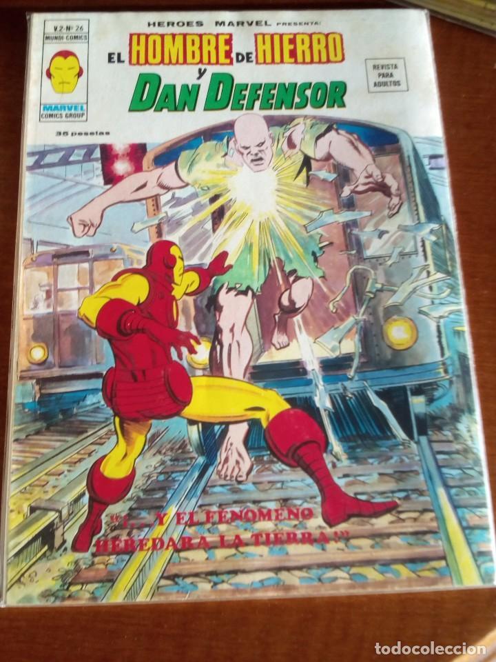 Cómics: HEROES MARVEL la masa dan defensor hombre de hierro N-1 AL 67 COMPLETA - Foto 28 - 63660951