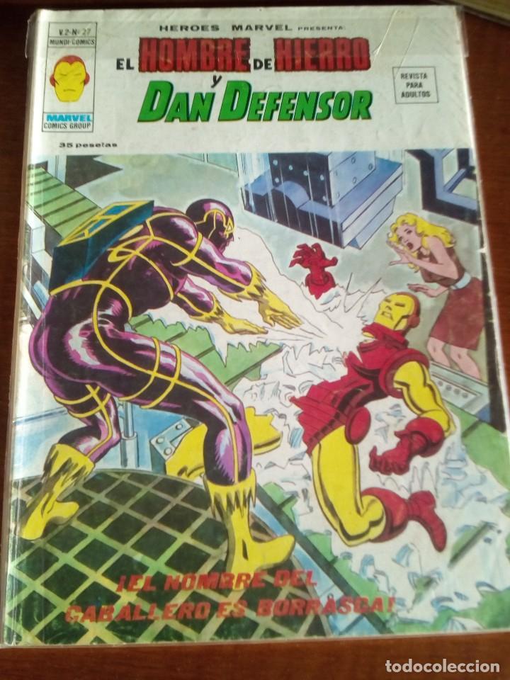 Cómics: HEROES MARVEL la masa dan defensor hombre de hierro N-1 AL 67 COMPLETA - Foto 29 - 63660951