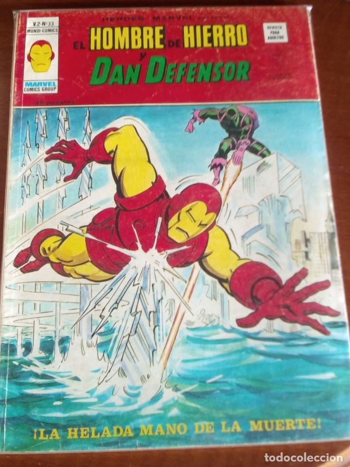 Cómics: HEROES MARVEL la masa dan defensor hombre de hierro N-1 AL 67 COMPLETA - Foto 34 - 63660951