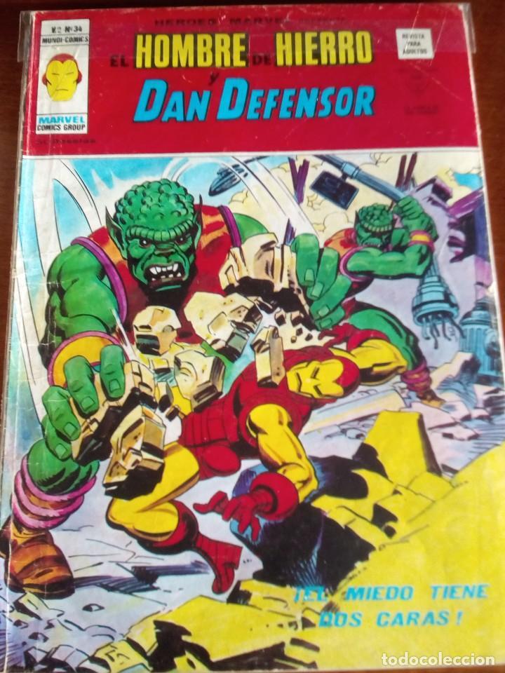 Cómics: HEROES MARVEL la masa dan defensor hombre de hierro N-1 AL 67 COMPLETA - Foto 35 - 63660951