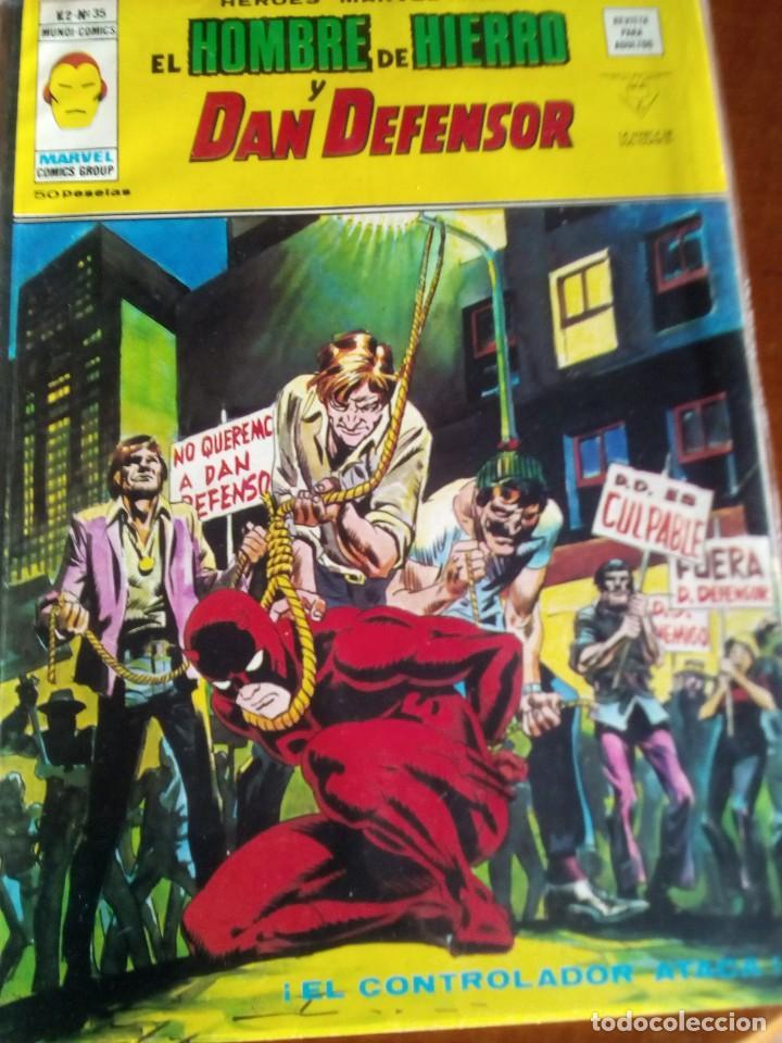 Cómics: HEROES MARVEL la masa dan defensor hombre de hierro N-1 AL 67 COMPLETA - Foto 36 - 63660951