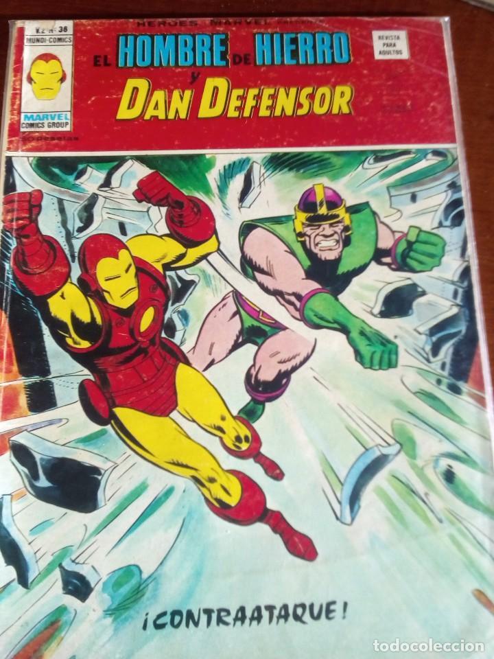 Cómics: HEROES MARVEL la masa dan defensor hombre de hierro N-1 AL 67 COMPLETA - Foto 37 - 63660951