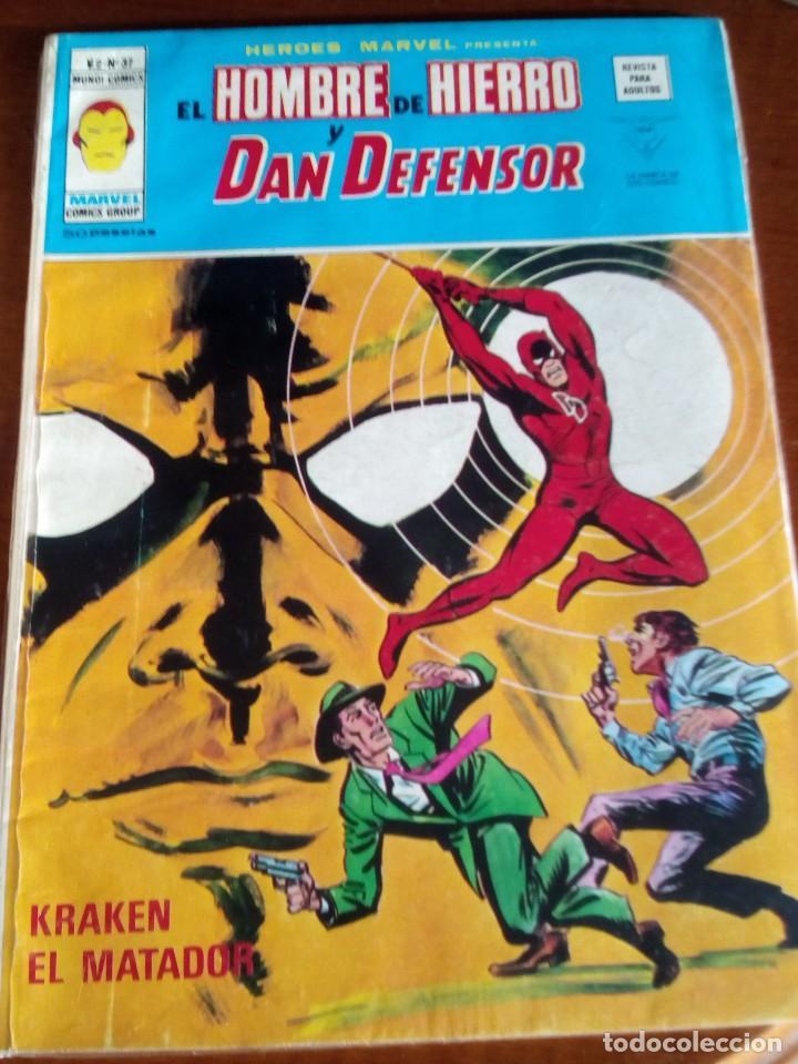 Cómics: HEROES MARVEL la masa dan defensor hombre de hierro N-1 AL 67 COMPLETA - Foto 38 - 63660951