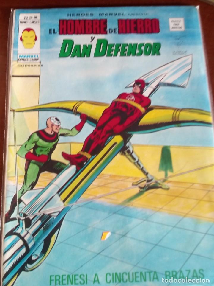 Cómics: HEROES MARVEL la masa dan defensor hombre de hierro N-1 AL 67 COMPLETA - Foto 39 - 63660951