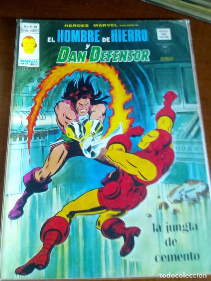 Cómics: HEROES MARVEL la masa dan defensor hombre de hierro N-1 AL 67 COMPLETA - Foto 40 - 63660951