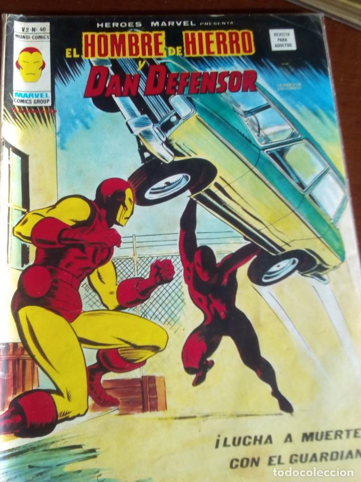 Cómics: HEROES MARVEL la masa dan defensor hombre de hierro N-1 AL 67 COMPLETA - Foto 41 - 63660951