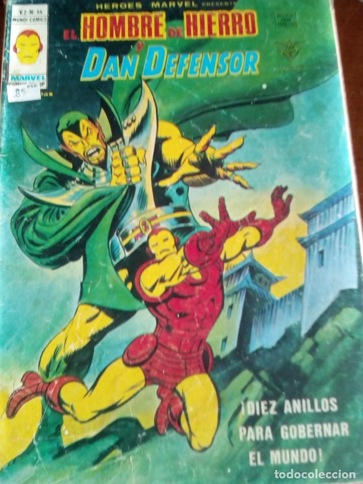 Cómics: HEROES MARVEL la masa dan defensor hombre de hierro N-1 AL 67 COMPLETA - Foto 45 - 63660951
