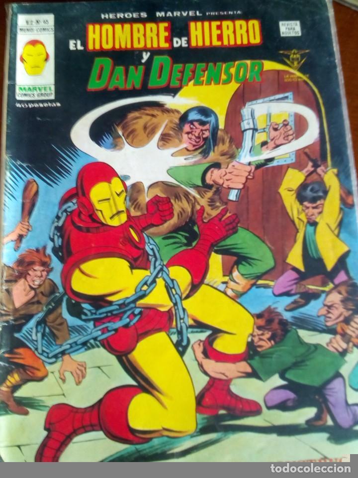 Cómics: HEROES MARVEL la masa dan defensor hombre de hierro N-1 AL 67 COMPLETA - Foto 46 - 63660951
